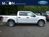2018 Ingot Silver Ford F150 STX SuperCrew 4x4 #129051425