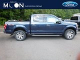 2018 Blue Jeans Ford F150 XLT SuperCrew 4x4 #129051423