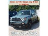 2018 Jetset Blue Jeep Renegade Latitude 4x4 #129070799