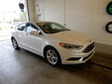 2018 White Platinum Ford Fusion SE #129070673