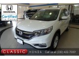 2015 White Diamond Pearl Honda CR-V EX AWD #129070841