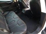 2013 Tesla Model S  Rear Seat