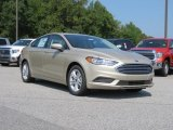 2018 White Gold Ford Fusion SE #129070694