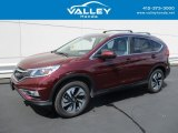2015 Basque Red Pearl II Honda CR-V Touring #129093349