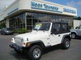 2006 Stone White Jeep Wrangler X 4x4 #12853675
