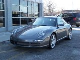 2007 Meteor Grey Metallic Porsche 911 Carrera Coupe #129143