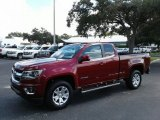 2018 Chevrolet Colorado LT Extended Cab Data, Info and Specs