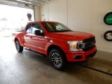 2018 Race Red Ford F150 XLT SuperCab 4x4 #129144488
