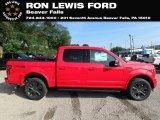 2018 Race Red Ford F150 XLT SuperCrew 4x4 #129144434