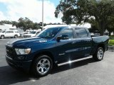 2019 Patriot Blue Pearl Ram 1500 Big Horn Crew Cab #129181454