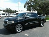2019 Diamond Black Crystal Pearl Ram 1500 Limited Crew Cab 4x4 #129181452