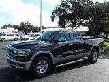 2019 Rugged Brown Pearl Ram 1500 Laramie Quad Cab 4x4 #129181451