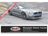2017 Avalanche Gray Ford Mustang GT Premium Coupe #129186461