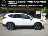 2018 White Diamond Pearl Honda CR-V Touring AWD #129186546