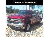 2019 Cajun Red Tintcoat Chevrolet Silverado 1500 LT Crew Cab 4WD #129186666