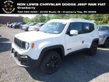 2018 Alpine White Jeep Renegade Latitude 4x4 #129186536