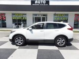 2017 White Diamond Pearl Honda CR-V EX-L #129209090