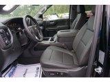 2019 Chevrolet Silverado 1500 LTZ Crew Cab 4WD Jet Black Interior