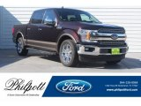 2018 Magma Red Ford F150 Lariat SuperCrew #129209052