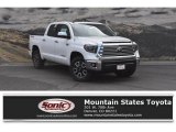 2019 Super White Toyota Tundra Limited CrewMax 4x4 #129230247