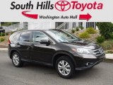 2014 Kona Coffee Metallic Honda CR-V EX AWD #129230343