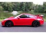 2018 Porsche 911 Guards Red