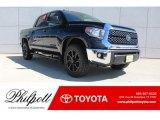 2019 Midnight Black Metallic Toyota Tundra TSS Off Road CrewMax 4x4 #129230442