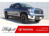 2019 Magnetic Gray Metallic Toyota Tundra TSS Off Road CrewMax 4x4 #129230441
