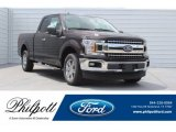 2018 Magma Red Ford F150 XLT SuperCab #129230427