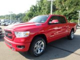 2019 Flame Red Ram 1500 Big Horn Crew Cab 4x4 #129230484