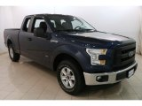 2016 Blue Jeans Ford F150 XL SuperCab 4x4 #129230532