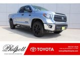 2019 Silver Sky Metallic Toyota Tundra TSS Off Road Double Cab 4x4 #129259105
