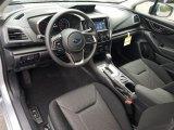 2019 Subaru Impreza 2.0i Premium 4-Door Black Interior