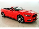 2015 Race Red Ford Mustang EcoBoost Premium Convertible #129259187