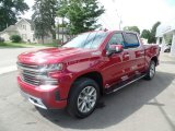 2019 Cajun Red Tintcoat Chevrolet Silverado 1500 High Country Crew Cab 4WD #129259020