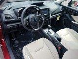 2019 Subaru Impreza 2.0i Premium 4-Door Ivory Interior
