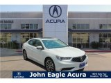 2018 Bellanova White Pearl Acura TLX V6 SH-AWD Sedan #129279700