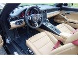 2018 Porsche 911 Carrera 4S Cabriolet Black/Luxor Beige Interior