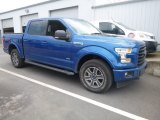 Lightning Blue Ford F150 in 2017