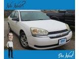 2005 White Chevrolet Malibu LS V6 Sedan #129293150