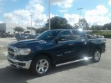 2019 Patriot Blue Pearl Ram 1500 Big Horn Crew Cab #129293397