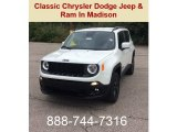 2018 Alpine White Jeep Renegade Latitude 4x4 #129311376