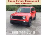 2018 Colorado Red Jeep Renegade Latitude 4x4 #129311372