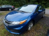 2015 Dyno Blue Pearl Honda Civic LX Coupe #129311289