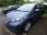 2014 Twilight Blue Metallic Honda CR-V EX-L AWD #129311288
