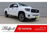 2019 Super White Toyota Tundra TRD Sport CrewMax 4x4 #129311321