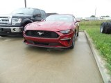 2019 Ruby Red Ford Mustang EcoBoost Premium Convertible #129311410