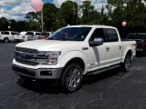 2018 White Platinum Ford F150 Lariat SuperCrew 4x4 #129311440