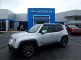 2017 Glacier Metallic Jeep Renegade Limited 4x4 #129311269