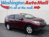 2012 Basque Red Pearl II Honda CR-V EX-L 4WD #129334336